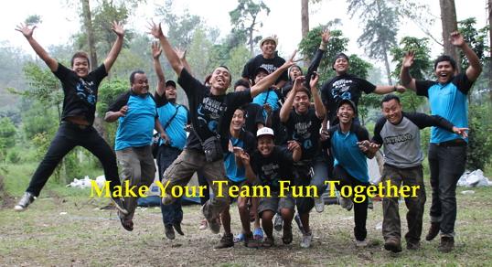 make your team fun